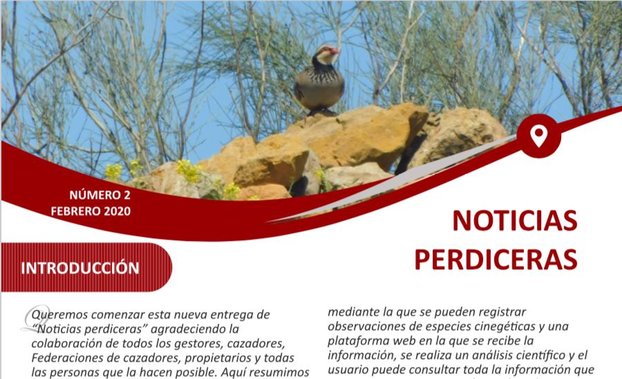 Boletín Noticias Perdiceras Artemisan