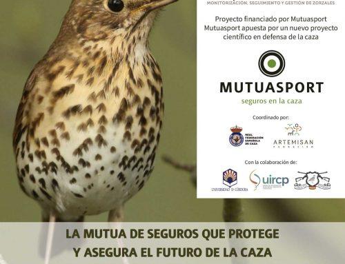 """Mutuasport y entidades del sector cinegético lanzan el """"Proyecto Zorzales: monitorización, seguimiento y gestión de zorzales en España"""""""