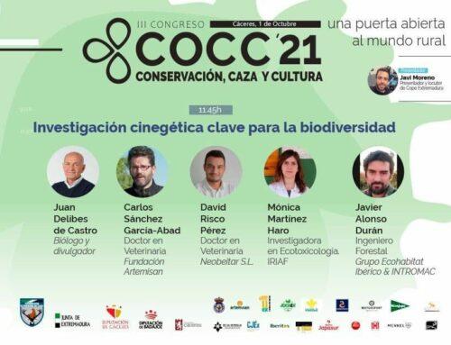 Fundación Artemisan, muy presente en el III Congreso Conservación, Caza y Cultura 2021 en Cáceres